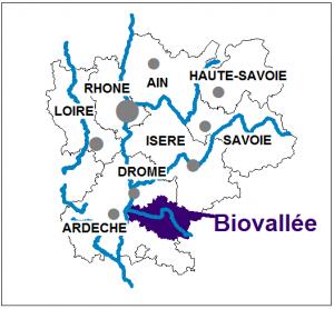carte de la Biovallée