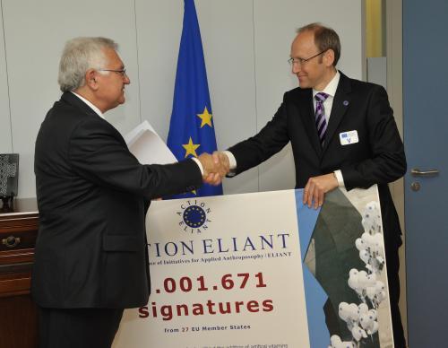 La Commission européenne a enregistré la pétition en faveur des initiatives issues de l´anthroposophie
