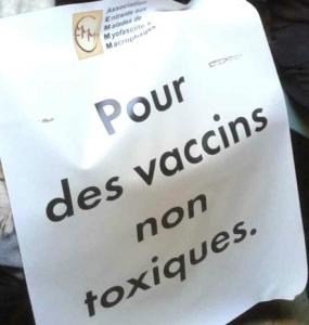 Grève de la faim tournante et illimitée contre l'aluminium dans les vaccins
