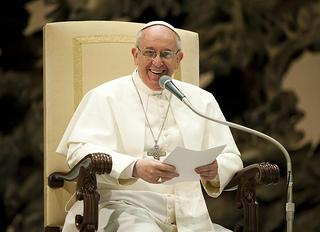 Le pape François en Mars 2013 (Crédit photo : Ctaholic Church (England and Wales))