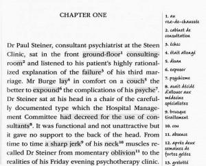 Le début de A mind to murder de P. D. James